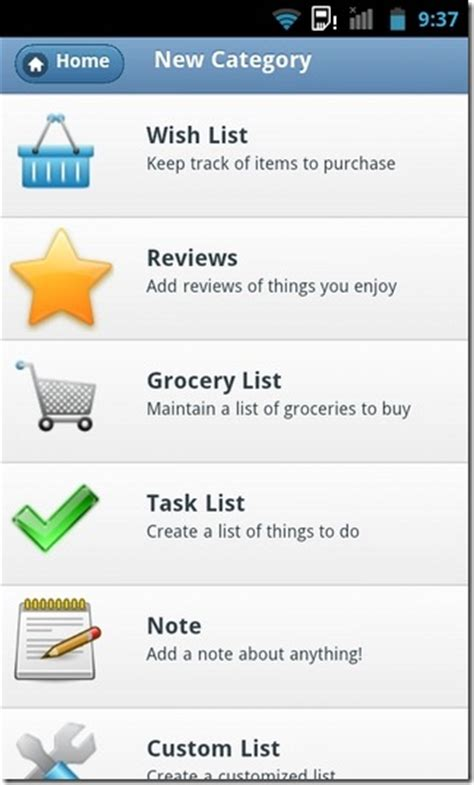 to do list app android lists notes for android to do list manager with custom categories