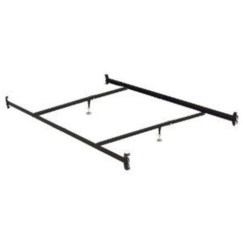 queen bed rails with hooks queen size hook on steel bed rails frame w cross arms and