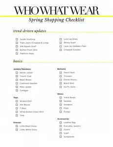 shopping for here s the only checklist you need