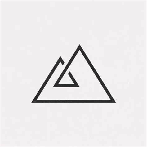minimalist design meaning image result for triangle a logo avp pinterest
