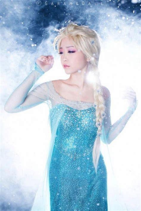 Cn Elsa New 4 Tosca 1 冰雪奇緣frozen 艾莎女王超強cosplay 話題閒聊交流版 citytalk城市通