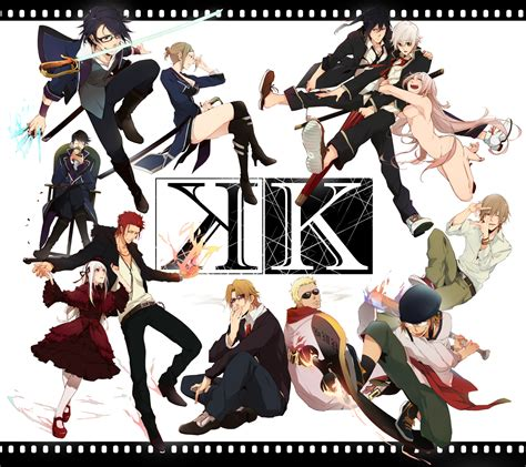 K Anime Characters by K Project Mitch Anime Review So Original