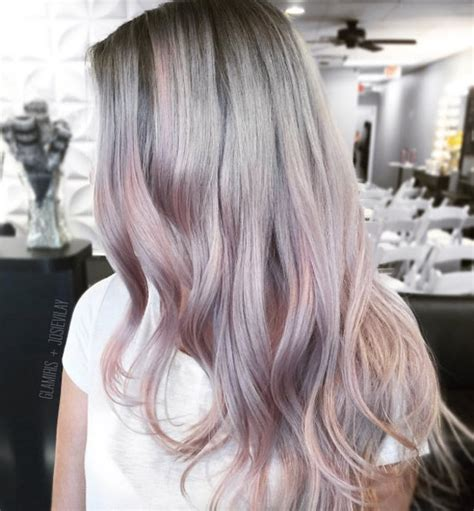 pictures of grey hairstyles with pink highlights 41 brilliant ways to wear gray and silver hair color