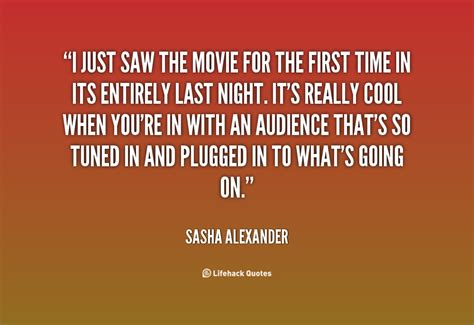 quotes film in time the first time movie quotes quotesgram