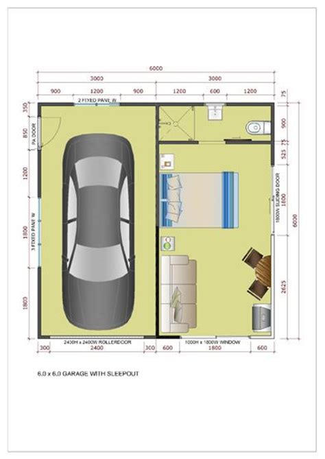 Granny Flat Floor Plans the 25 best garage conversions ideas on pinterest
