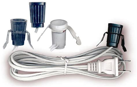 l socket and cord set l cord sets with socket and molded national artcraft