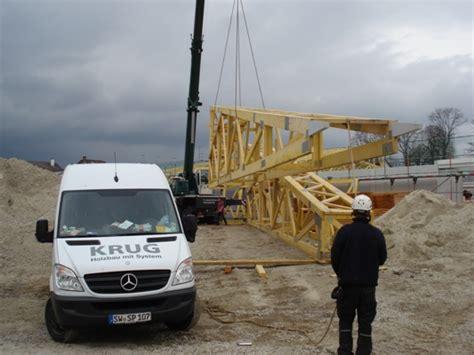 Baut Sekrup Roofing 12 X 65 Berkualitas krug holzbau mit system gewerbebau detailseite f 252 hrender dachsystemhersteller baut