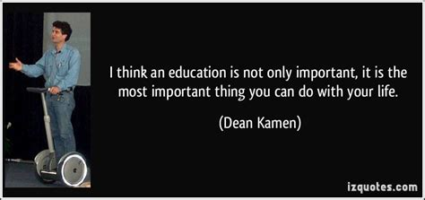 Think an education is not only important it is the most important