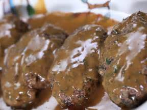 moroccan meatloaf with lemon honey gravy and zucchini couscous recipe rachael ray food network