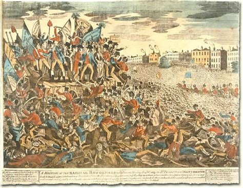 the national archives learning curve power politics and protest peterloo source 2