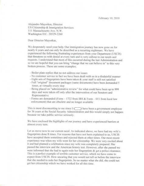 Petition Letter For Citizenship Uscis Letter Responses Craig Ging S Home On The Web