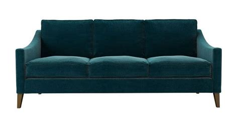 turquoise velvet couch 3 seater iggy sofa in turquoise velvet quendale