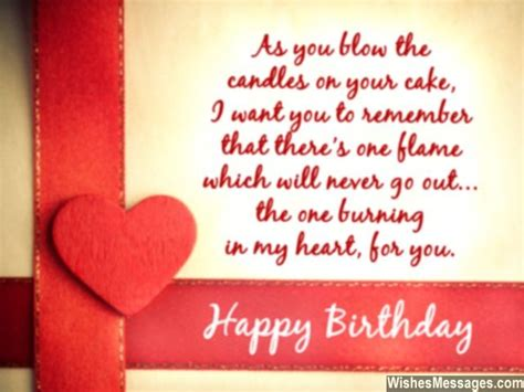 Birthday Card Messages Boyfriend Birthday Wishes For Girlfriend Quotes And Messages