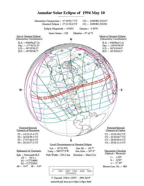 nasa annular solar eclipse of 1994 may 10