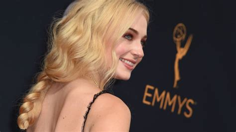 sophie turner tattoo turner shows of thrones at emmys