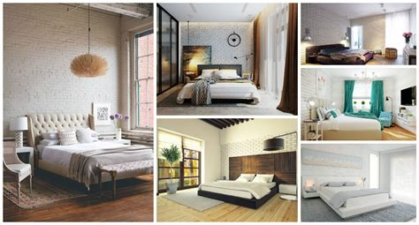 urban style bedrooms 12 white bricks bedrooms with urban style that you can t