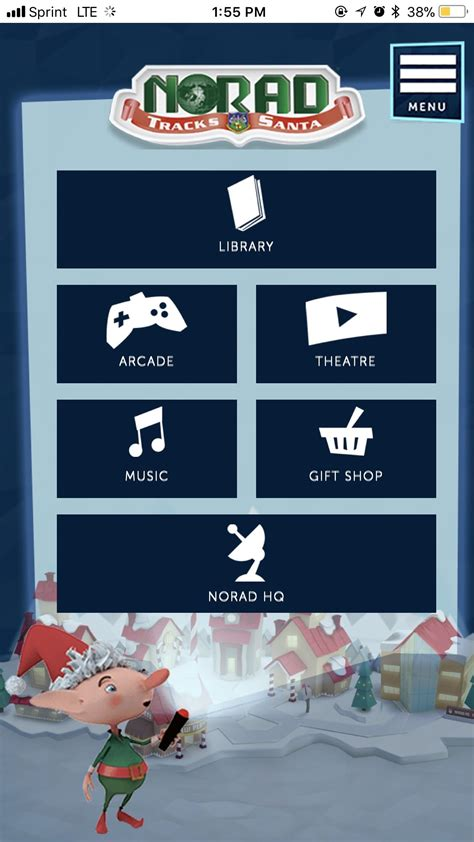 santa tracker track santa on your smartphone with norad s official santa