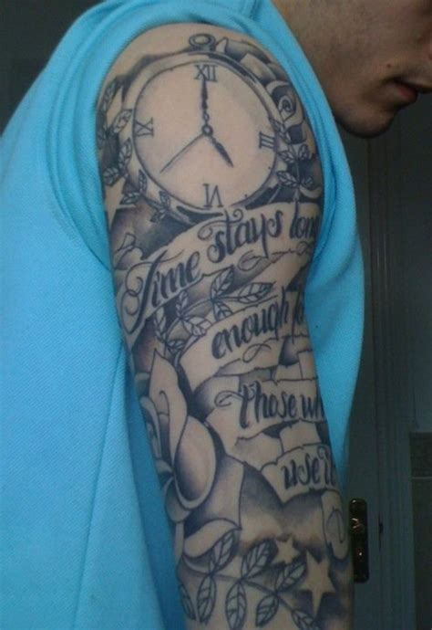 money tattoo sleeve get money tattoos my half sleeve pictures tats