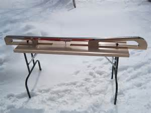 cross country ski waxing bench diy ski tuning bench plans wooden pdf square farmhouse
