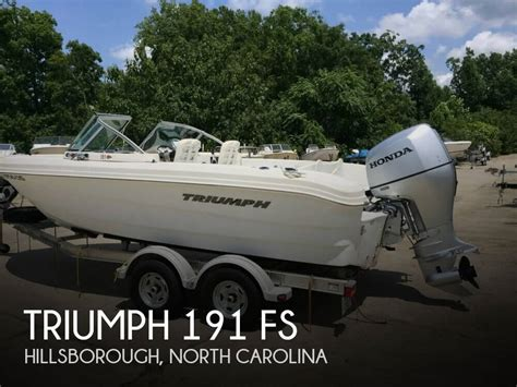 triumph inflatable boats used 2007 triumph 190 bay boat for sale in newberry