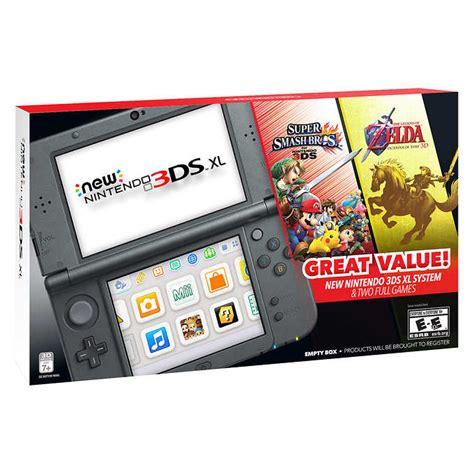 Nintendo 3ds Xl Bundle 1716 by New Nintendo 3ds Xl Bundle With Smash Bros