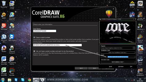 corel draw x6 serial number and activation code free download corel draw x6 activation code