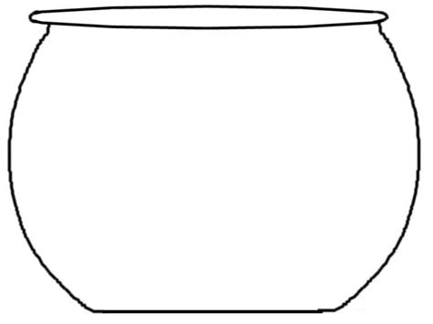 fishbowl template fish bowl pattern the sea crafts