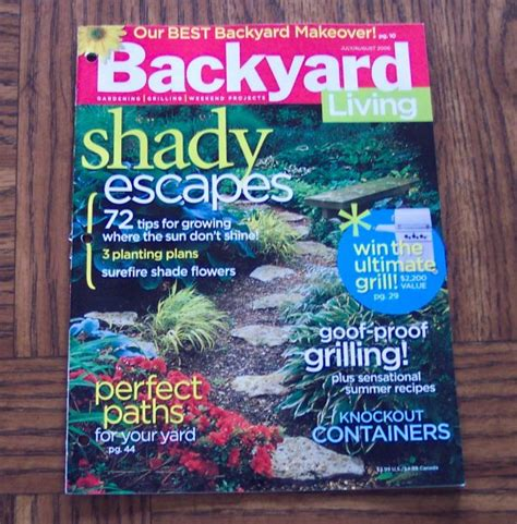 backyard living magazine backyard living magazine outdoor furniture design and ideas