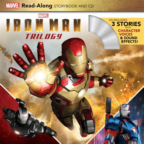 iron man read along storybook and cd paperback marvel book group target iron man trilogy read along storybook and cd disney books disney publishing worldwide