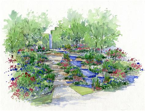 drawing of garden how to plant a show garden growing tales