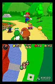 Shiny Review Mario 64 For The Ds by Kikizo Nintendo Ds Review Mario 64 Ds