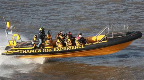 rib boat tour london thames rib experience river tour visitlondon