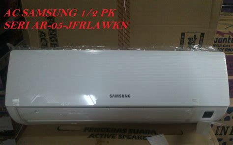 Ac Sharp 1 2pk Freon R32 jual samsung ac 1 2pk ar 05 jfrlawkn indoor outdoor