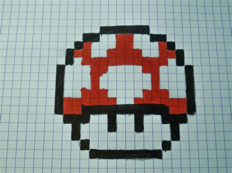 Mario Mushroom Lamp by Mario Mushroom Pixel Art 2015 By Easysarts On Deviantart