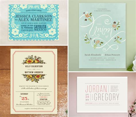 Wedding Invitations Minted by New Wedding Invitations At Minted Invitation Crush