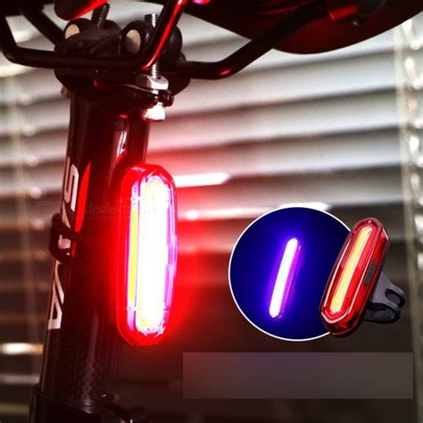 Lu Belakang Sepeda Bicycle Taillight wheel up bike bicycle led light waterproof rear light usb redchargeable mountain