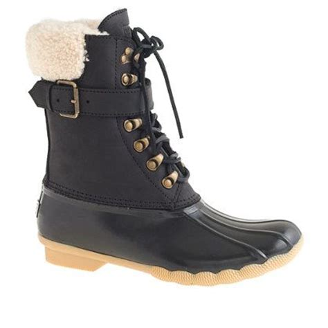 j crew winter boots j crew s sperry top sider 174 for j crew buckle boots