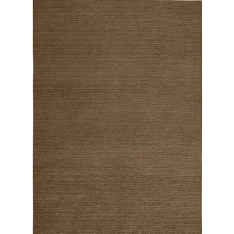 resistant rugs ruggable washable solid tobacco 5 ft x 7 ft stain resistant area rug 93647 the home depot