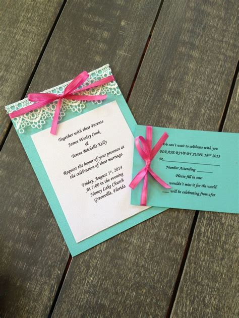pink and aqua wedding invitations 50 best wedding aqua and pink images on wedding stuff turquoise weddings and