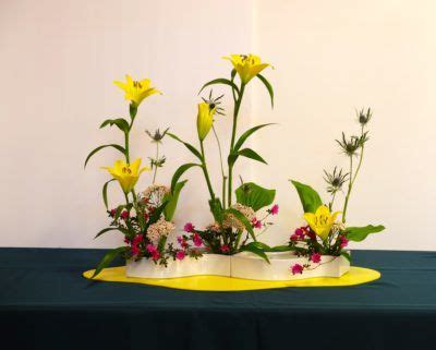 ohara school of ikebana flower arranging class | scott