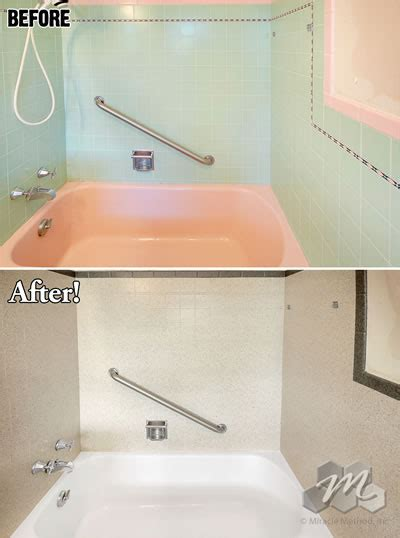 Miracle Bathtub Refinishing by Bathtub Refinishing Cost Miracle Method