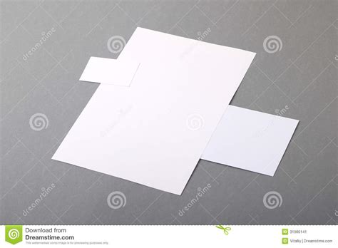 Flat Photo Card Template by Blank Basic Stationery Letterhead Flat Business Card