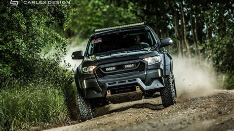 ford on road custom ford ranger can go road in style with posh interior