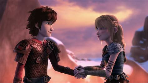 And Astrid Go hiccup and astrid s moment of holding before they