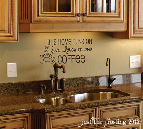 Coffee Decor Kitchen by Coffee Wall Decal Coffee Decor Kitchen Wall Decal