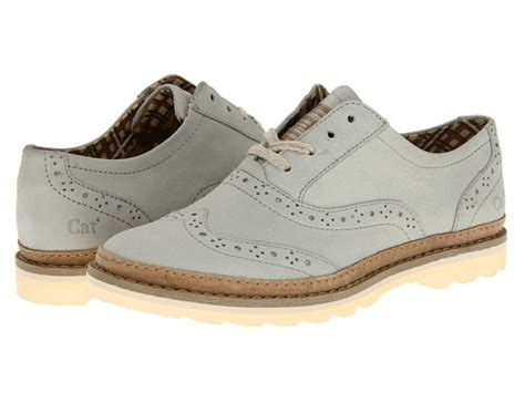 best womens oxford shoes best review of caterpillar casual worksong light grey