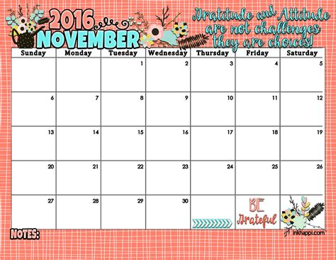 november calendar 2016 www imgkid com the image kid