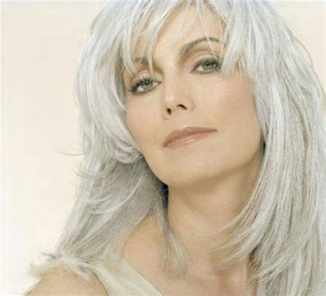 pretty gray midlength hair 8 best medium length hairstyles for women over 50 images