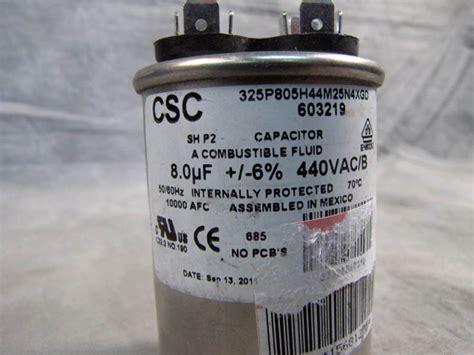 csc capacitors csc capacitor company 28 images asc capacitor x386s p009 50 uf 3 370vac 50 60hz ebay csc
