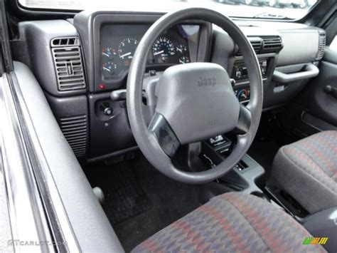 1999 Jeep Wrangler Interior 1999 Jeep Wrangler Sport 4x4 Interior Photo 46804977